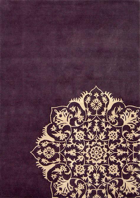 indian pattern notebook rangoli inspired rug plum and cream harlequin susa rug