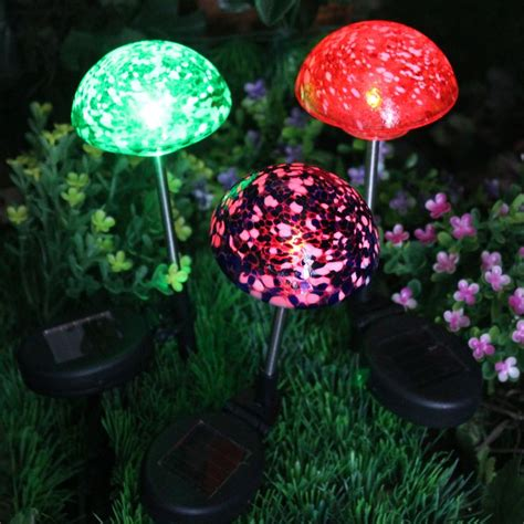 glass mushroom solar lights 31 best images about path lights by solascape on pinterest