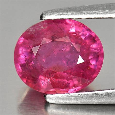 Pink Mozambique Ruby Oval 2 74 ct oval shape gemstone pink color ruby