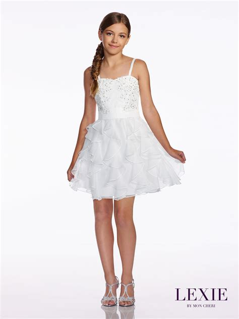 lexie  mon cheri tw tween graduation dress french