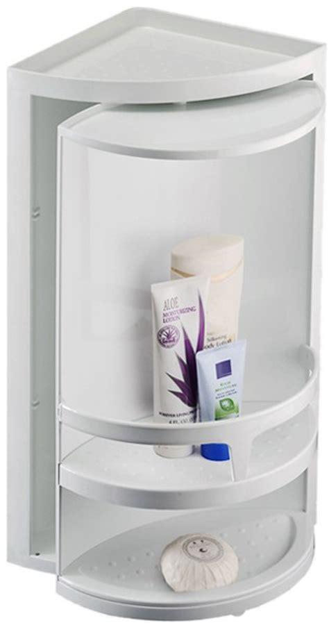 Rotating Corner Cabinet by Corner Rotating Bathroom Storage Unit 300x490x210mm