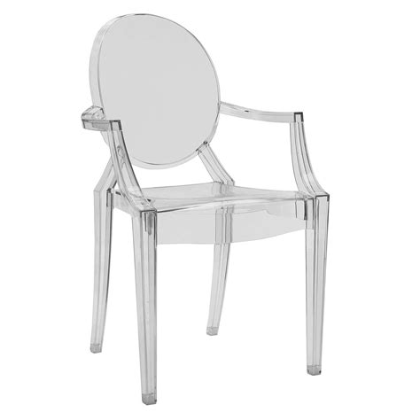 louis ghost armchair philippe starck for kartell louis ghost chair at john lewis