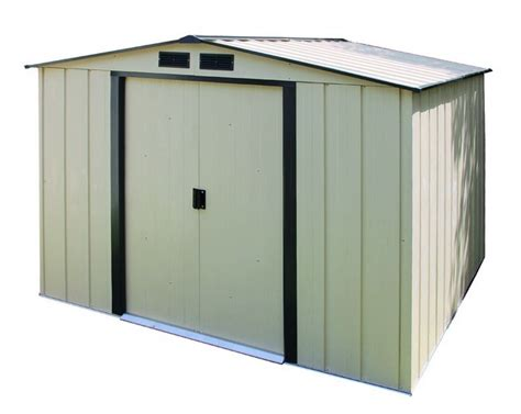 duramax  eco metal storage shed kit