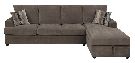 Coaster Moxie Sectional Sleeper Sofa Chocolate 503995 At Coaster Sofa Sleeper