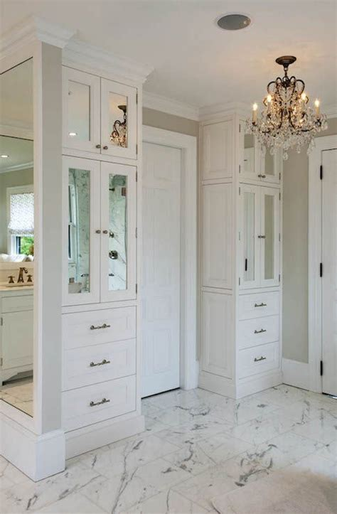 floor to ceiling bathroom cabinets crown point cabinetry bathrooms greige wall color