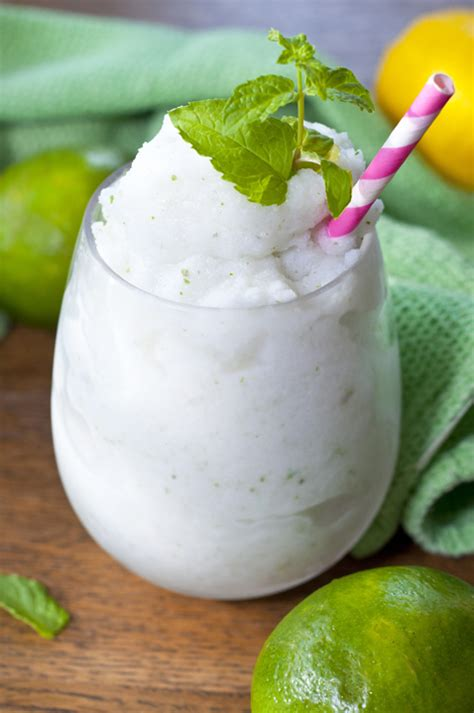 frozen mojito recipe frozen coconut mojito wishes and dishes