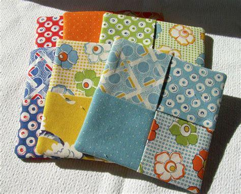 pattern fabric coasters cat n cart crafts criss cross coasters