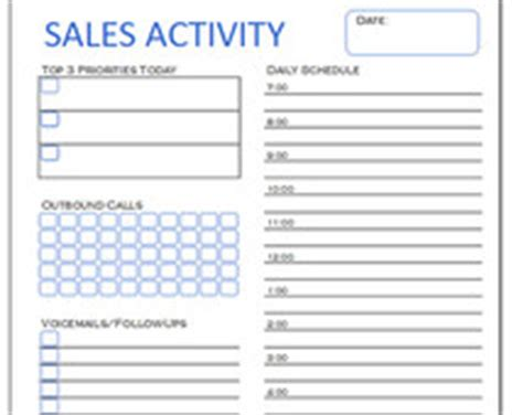 Cold Call Sheet Template by Sales Activity Tracker Daily Planner Cold Call Tracker