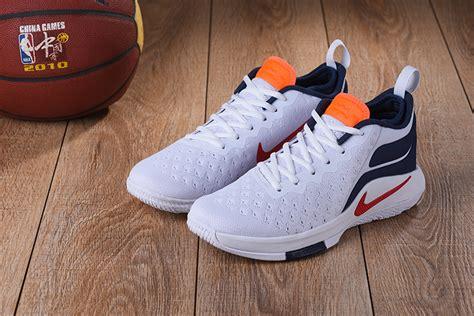 Sepatu Basket Nike Lebron Witness Low Navy summer nike lebron witness 2 5 low s basketball shoes white blue