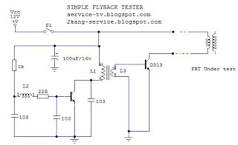 transistor horizontal st 1510 modifikasi transistor horizontal 22 images electronics repair diy simple flyback tester
