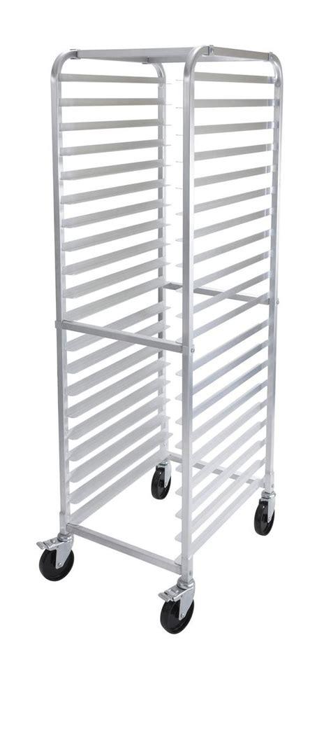Bun Racks For Sale by Winco Awrk 20 20 Pan Welded Aluminum Bun Pan Rack W 5in