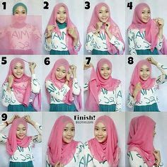 tutorial kerudung k pesta 1000 images about kerudung on pinterest hijab tutorial