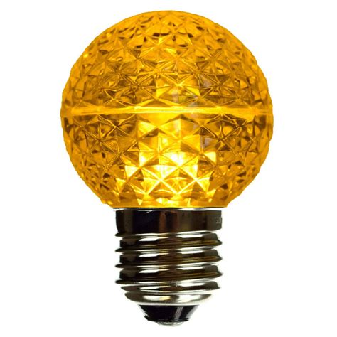 yellow led light bulbs yellow led globe light bulb