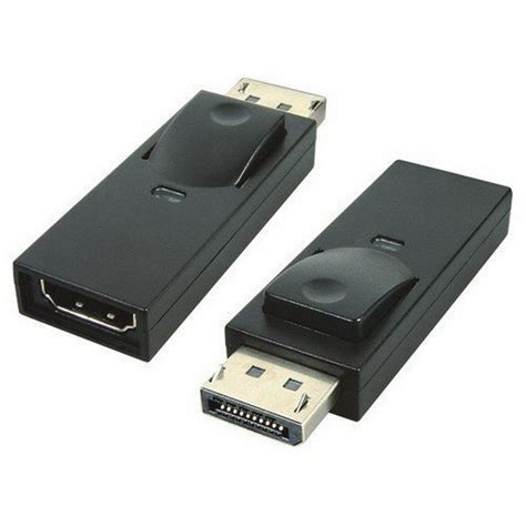 displayport to tv displayport to hdmi hdtv adapter converter lcd tv dell ebay