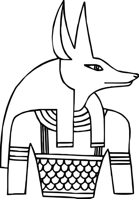 Coloring Pages House Of Anubis | egyptian deity coloring pages coloring pages house of anubis
