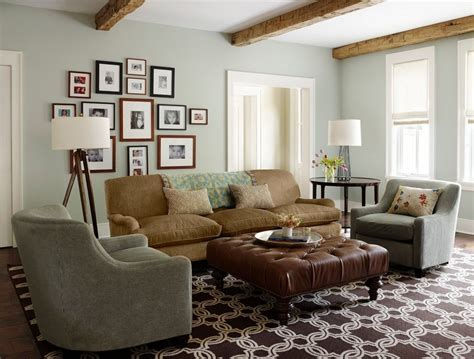 living room with leather sectional grey leather sectional living room traditional with reclaimed wood beams decorative pillows