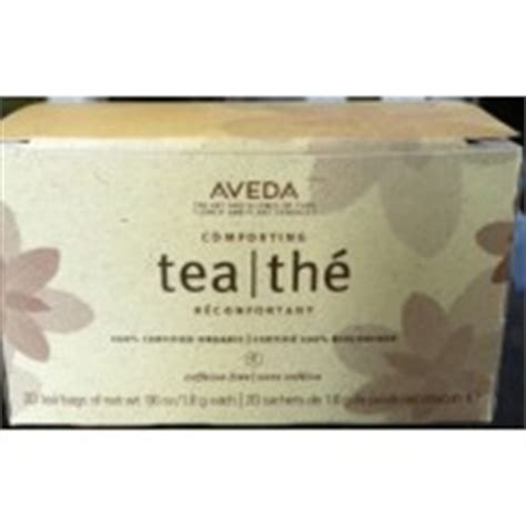 aveda comfort tea aveda comforting tea bags calories nutrition analysis