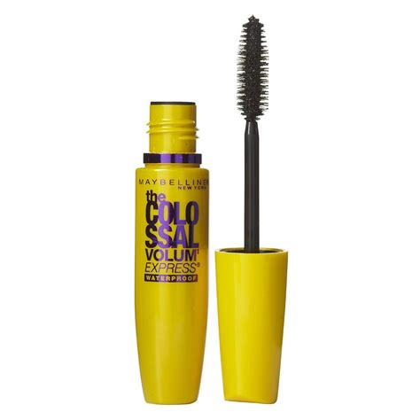 Mascara Maybelline buy colossal volum express waterproof mascara in glam black 7 5 ml by maybelline priceline