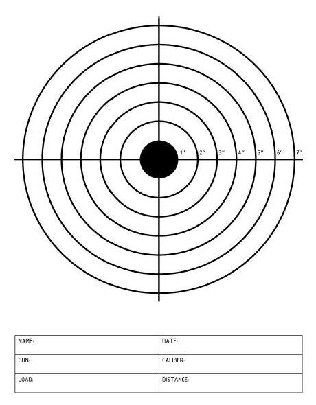 printable targets pdf tacticool products targets