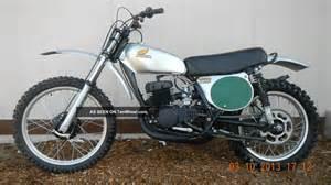 Honda Cr250m Elsinore 1974 Honda Cr250m Elsinore