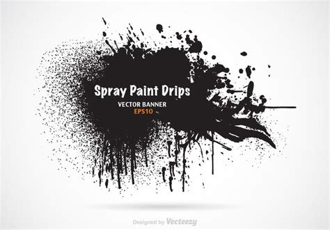 spray paint vector free free spray paint drips vector banner free
