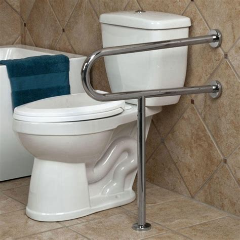 bathroom support bars pickens u shape grab bar with leg support bathroom