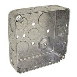 shop raco 2 gray metal interior new work work standard square celing wall electrical