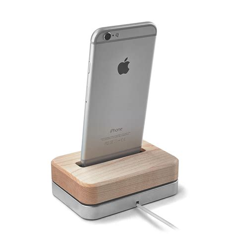 Grid Iphone 5 5s 6 6s 7 7plus wooden iphone station 3 lb black stainless steel