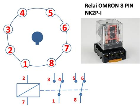 octal relay wiring diagram electrical schematic