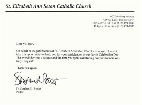 Recommendation Letter Sle Church Member Herbert Jann Productions Magician