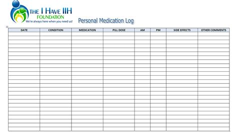 medication signing sheet template 7 best images of printable patient medication log sheet