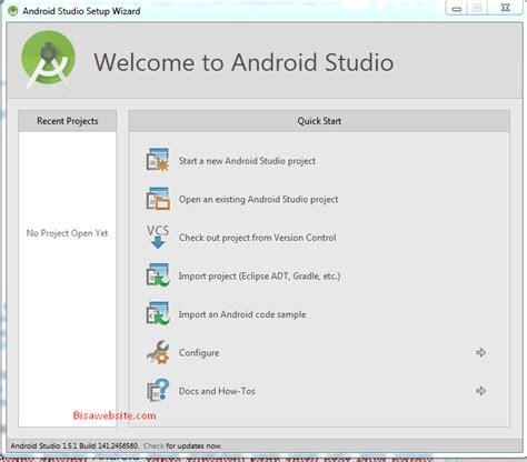 tutorial android studio lengkap cara lengkap install android studio pada windows