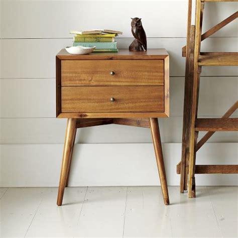 bedroom night table midcentury nightstand wood midcentury nightstands and