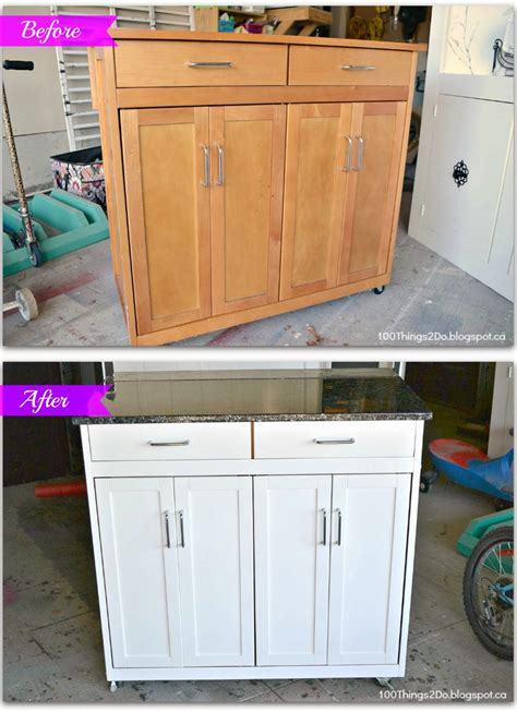 mobile kitchen island units before and after portable kitchen island 100 things 2 do