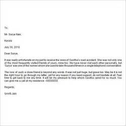 sle condolence letter 6 documents in word