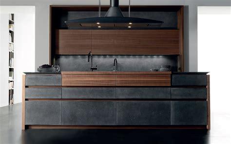 cucine in cemento cucina in cemento con isola wind cemento eta noir by