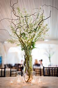 Tall Centerpieces Branch Wedding Centerpieces On Pinterest