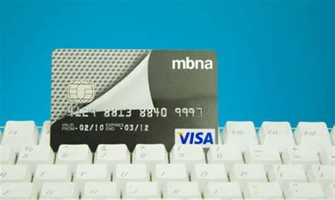 Mba Credit Card Login by Bank Of America Credit Card Login Uk