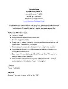 pharmacy student resume sle clinical pharmacist resume sales pharmacist lewesmr