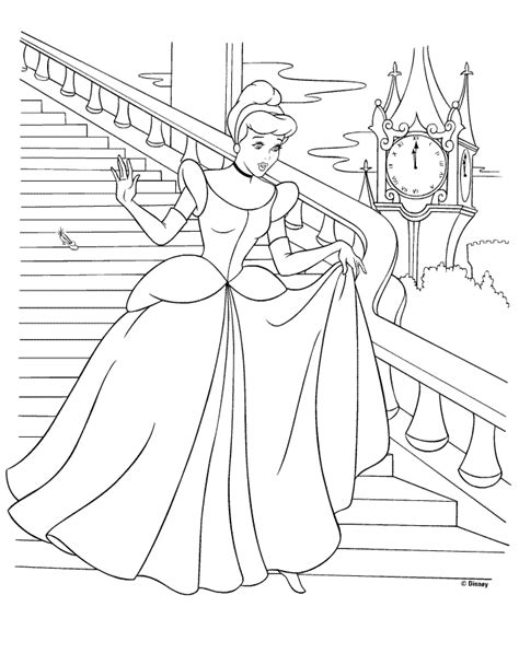 printable coloring pages cinderella amazing coloring pages cinderella printable coloring pages