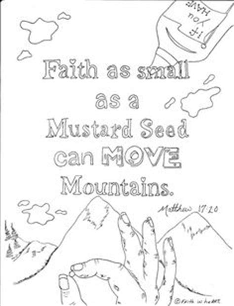 small as a mustard seed books 1000 images about bible colouring pages on