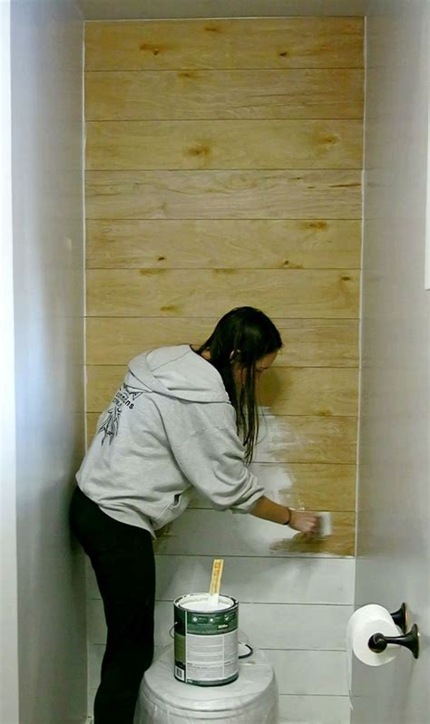 How To Install A Faux Shiplap Wall   home decor