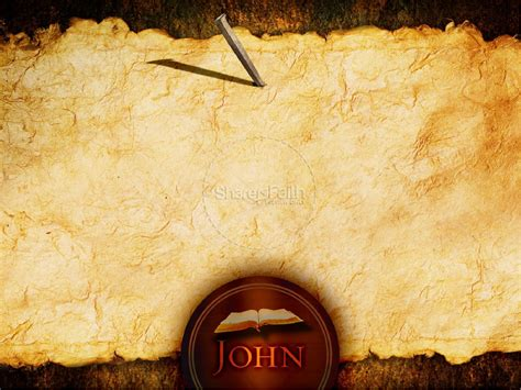john s gospel powerpoint template new testament books