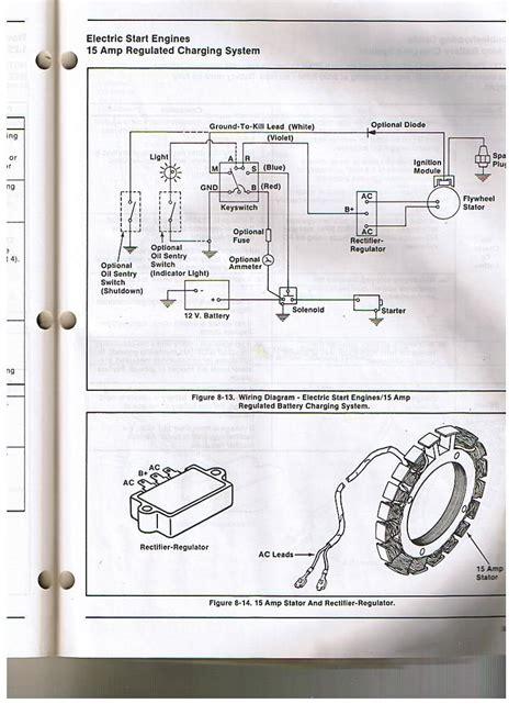 kohler voltage regulator wiring diagram kohler engine electrical diagram re voltage regulator