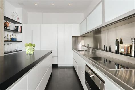 Modern Galley Kitchen Design Modern Kitchen Backsplash Ideas For Cooking With Style