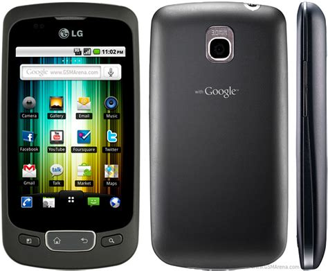 lg optimus one p500 pictures official photos