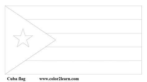 Cuba Flag Coloring Page Free Cuba Coloring Pages by Cuba Flag Coloring Page