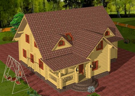 k3 cottage 3d cad software for log home cabin design