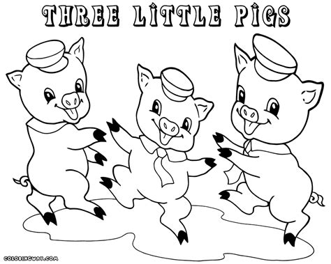 pigs coloring pages coloring home the three little pigs coloring pages free coloring home