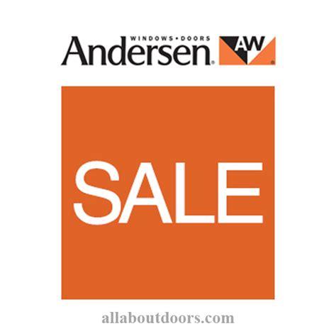 Andersen Patio Door Clearance - andersen window door parts